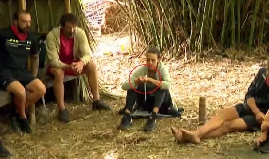 «Survivor» – Το τσιγαράκι της Ταραμπάνκο έξω από την καλύβα προκαλεί σεισμό στην παραγωγή