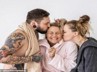 Πολυερωτiκή σύζυγος αρραβωνιάζεται γυναίκα, και ο άντρας της δηλώνει ευτυχισμένος παρότι δεν θα κάνει s3x με το νέο μέλος της… οικογένειας (pics)