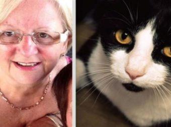 Αυτή η 64χρονη δεν είχε ιδέα τι μεγάλωνε στον ώμο της – Η γάτα της όμως κατάλαβε ότι κάτι δεν πήγαινε καλά