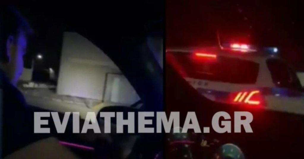 Πρωτοφανές: Νεαροί «βούτηξαν» περιπολικό της αστυνομίας και τραβούσαν βίντεο για το Tik Tok