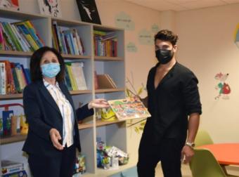 Στη Θεσσαλονίκη σήμερα ο Ασημακόπουλος – Συνεχίζει να προσφέρει σε καρκινοπαθή παιδιά