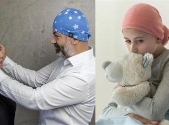 Άξιοι συγχαρητηρίων: Έλληνες γιατροί φτιάχνουν σκουφάκια για παιδιά ήρωες που παλεύουν με τον καρκίνο