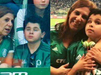 Μητέρα υιοθέτησε τυφλό αγόρι, πηγαίνουν στο γήπεδο παρέα και του περιγράφει τι γίνεται στο ματς