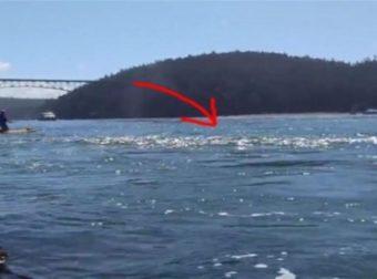 Όταν είδε την θάλασσα να αφρίζει άρπαξε αμέσως την κάμερα – Αυτό που κατέγραψε θα σας αφήσει με το στόμα ανοιχτό (Video)