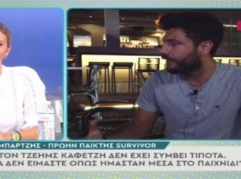 Survivor 4: Ο Νίκος Μπάρτζης καταγγέλλει μπροστά στις κάμερες τον Ατζούν Ιλιτζαλί