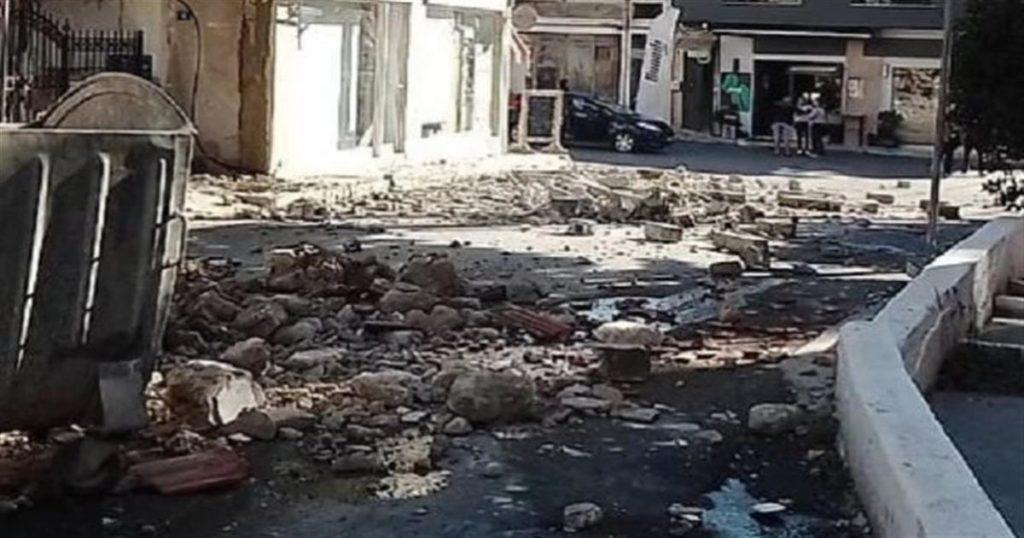 Ισχυρός σεισμός 5,8 Ρίχτερ, Ηράκλειο Κρήτης: Επίκεντρο, βάθος, εγκλωβισμένοι, ζημιές [φωτο]