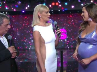 J2US: Η Κατερίνα Στικούδη αποκάλυψε on air το φύλο του μωρού της